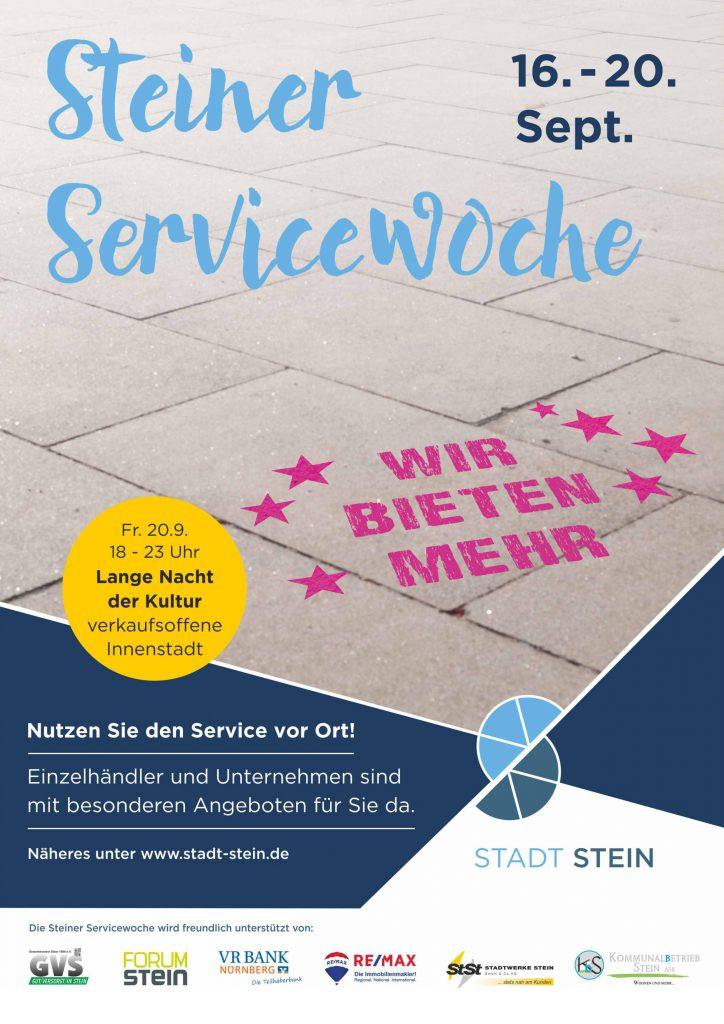 Steiner service Woche Vorsicht Frische Brillen